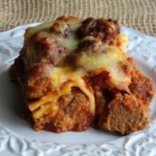 Meat Ball Lasagna