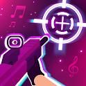 Shoot The Beat - Gun Sync Music Game icon
