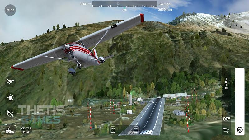 Flight Simulator 2018 FlyWings Free Screenshot 1