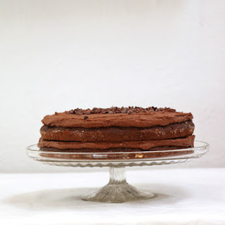 Chocolate and Courgette Cake Recipe