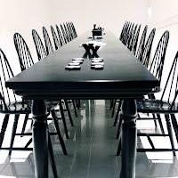 la sala da pranzo di
