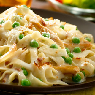 Chicken And Bacon Carbonara Pasta Recipes.