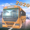 US City Bus Racing simulator Drive 2020 icon