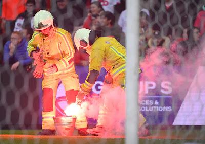 Match arrêté à Sclessin: les Storm Ultras se fâchent