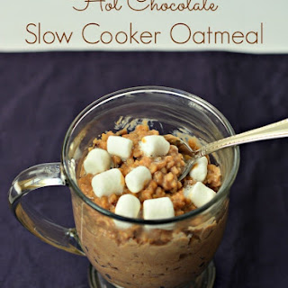 Hot Chocolate Slow Cooker Oatmeal