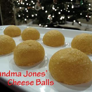 Grandma Jones' Cheese Balls.