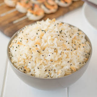 Toasted Coconut Rice.