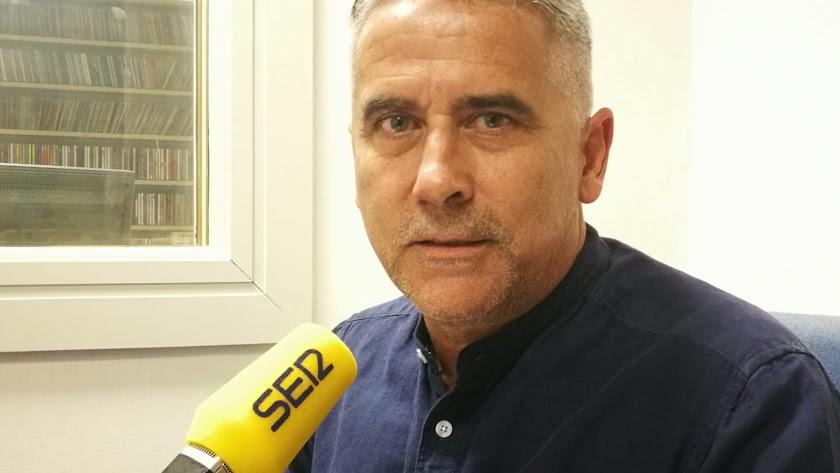 En los estudios de la Cadena SER de Almería.