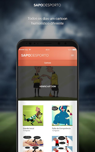 Futebol screenshot 6
