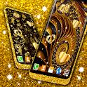 Golden Wallpaper Fancy 💛 Shine Luxurious Theme icon
