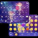 Jellyfish Emoji iKeyboard Skin icon