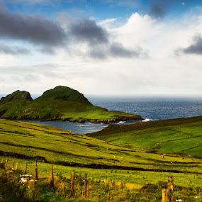 Good morning Irland by Federica Violin - Landscapes Prairies, Meadows & Fields ( irland, irlanda )