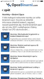 OpceBinarni.com - Binární opce - náhled