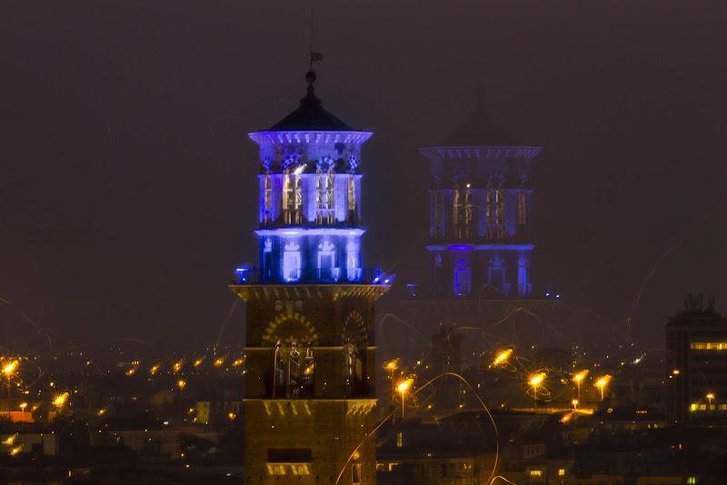 La doppia torre di Verona di claudio_busatto
