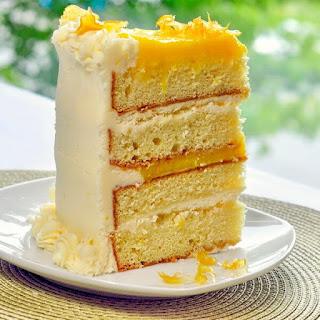 The Ultimate Lemon Cake.