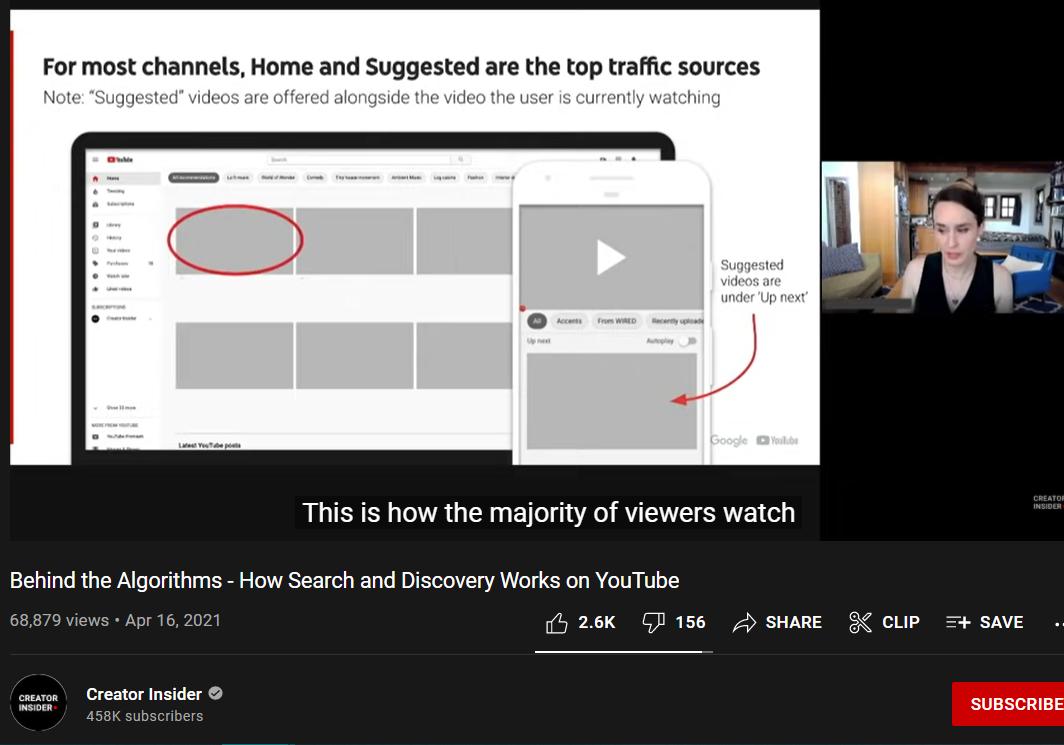Creator Insider YouTube channel screenshot