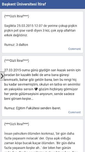 Başkent Üniversitesi İtiraf