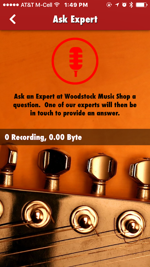 Woodstock Music Shop- screenshot