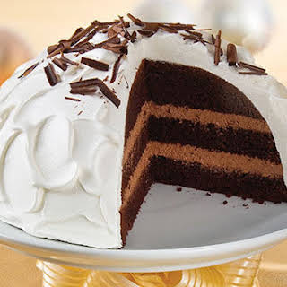 COOL WHIP Chocolate ONE BOWL Bliss Cake.