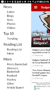 Badger Beat by madison.com- screenshot thumbnail
