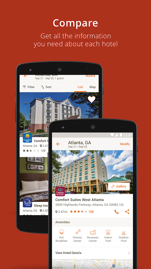 Choice Hotels- screenshot