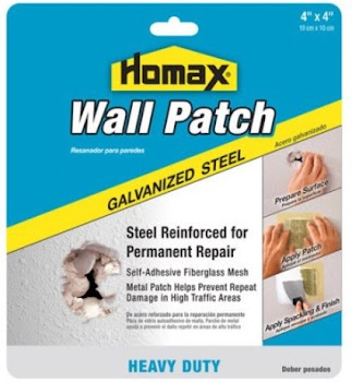 "Homax Products Wall Patch - 4"" x 4"""