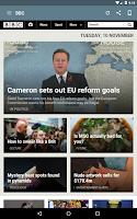 Screenshot of UK Newspapers