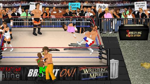 Wrestling Revolution screenshot 9