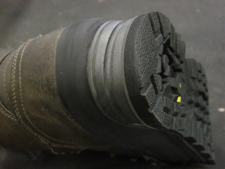 Nieuw onderwerk voor wandelschoenen