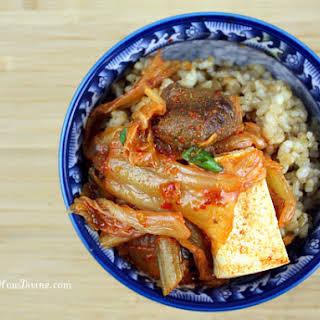 Easy Peasy Kimchi Jjigae (Kimchi Stew).