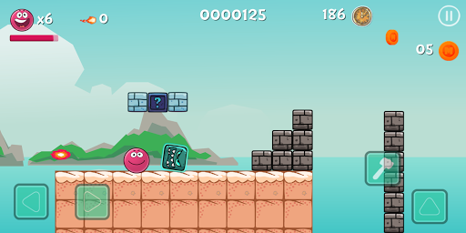 Red Ball Bounce 4 Hero vol 2 apkdebit screenshots 3