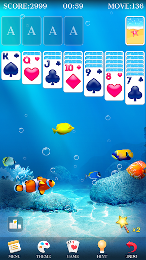Solitaire - Beautiful Girl Themes, Funny Card Game 1.3.8 screenshots 3