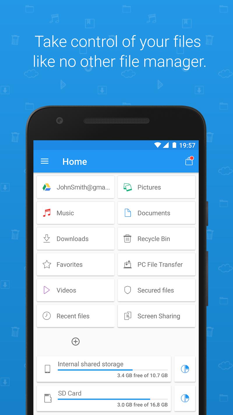 File Commander - File Manager/Explorer Screenshot 0