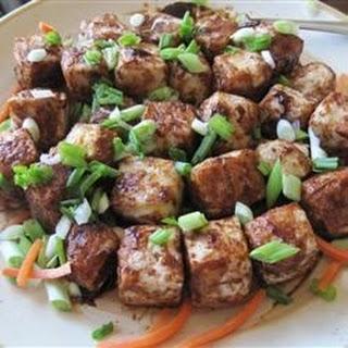 Agedashi-esque Tofu