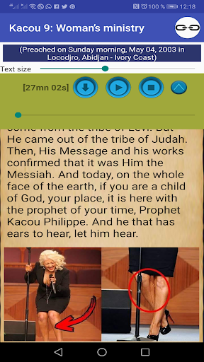 Prophet Kacou Philippe (Official) android2mod screenshots 5