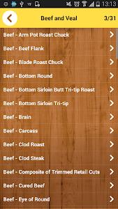 Calorie Chart screenshot 8