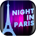 Night in Paris Live Wallpaper icon