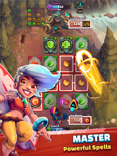 Super Spell Heroes - Magic Mobile Strategy RPG apktram screenshots 15