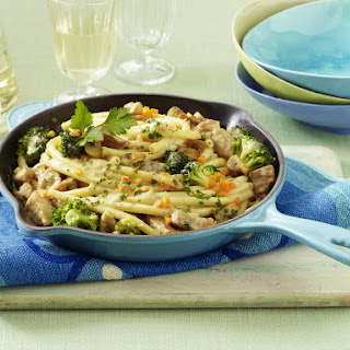Creamy Pork and Broccoli Pasta