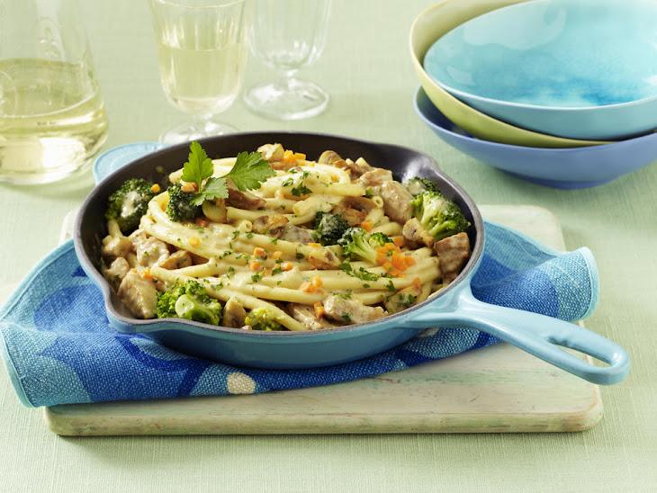 Creamy Pork and Broccoli Pasta Recipe