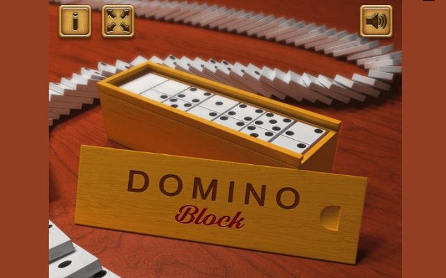 Domino - classical game against the machine