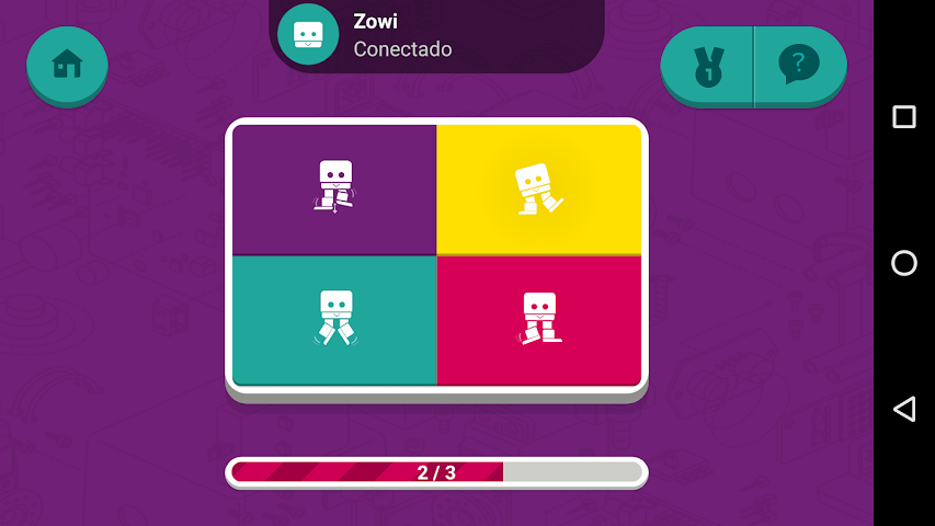 android Zowi App Screenshot 5