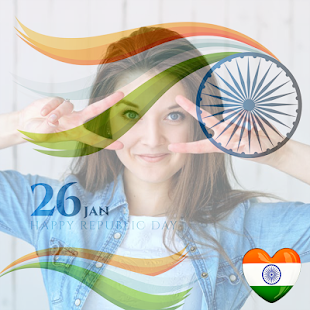 Indian DP Maker : 26 January 2018 Republic Day - náhled