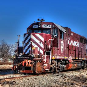Kiamichi  RR 3805 by Steve Tharp - Transportation Trains
