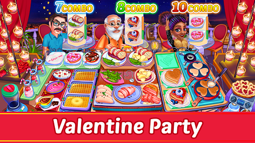 Cooking Party: Restaurant Craze Chef Fever Games apkpoly screenshots 12