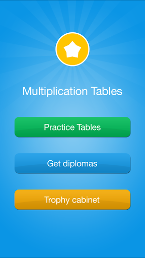 Multiplication Tables - Medals
