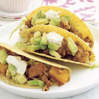 Chicken and Pumpkin Tacos