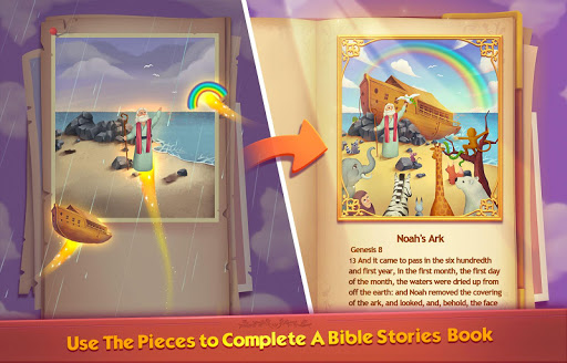 Bible Word Puzzle - Free Bible Story Game painmod.com screenshots 2