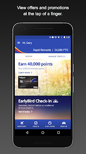 Southwest Airlines Screenshot 1