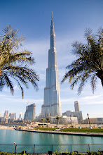Photo: Burj Dubai, the tallest man-made building/structure in history. 818 meters. Rauma water tower (36 m) wasn't the tallest building after all..